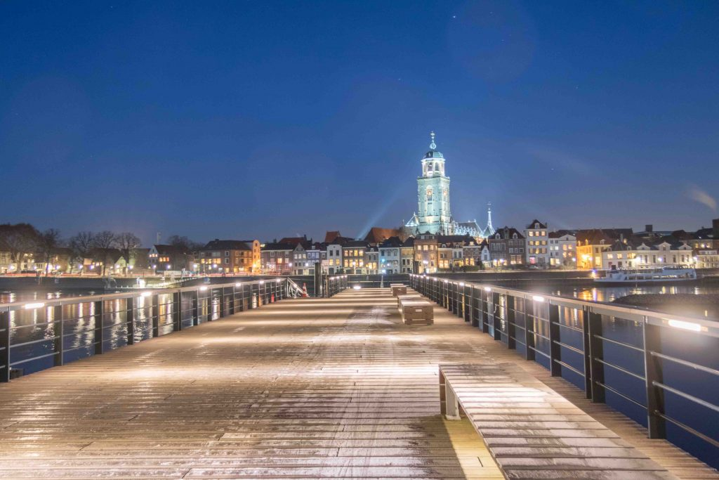 Deventer by night (HDR)